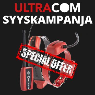 Ultracom Avius + KoiraGPS, sis. ohjelmiston, akut ja laturit