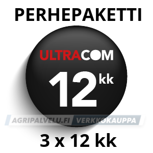 Ultracom Perhepaketti 3 x 12kk käyttöaika
