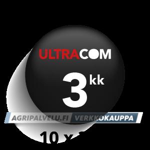 Ultracom Seurapaketti 10 kpl 3kk käyttöaika