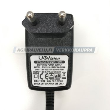 Uovision akkulaturi 6V Power Charger