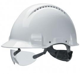 3M Peltor V6E suojalasit kypärään, kirkas