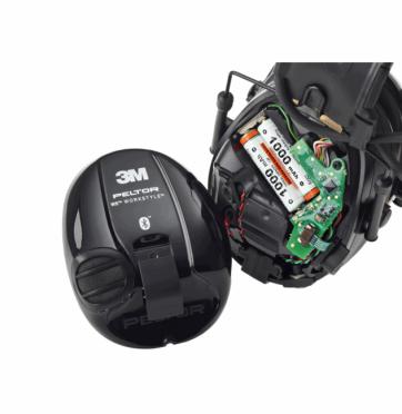 3M Peltor WS5 Workstyle kypäräkiinnikkeillä