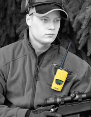 Zodiac Easy Hunt II -VHF puhelin + maakaapeli, 2600 mAh -akulla