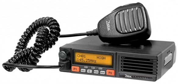 Zodiac Transport VHF -ajoneuvoasema