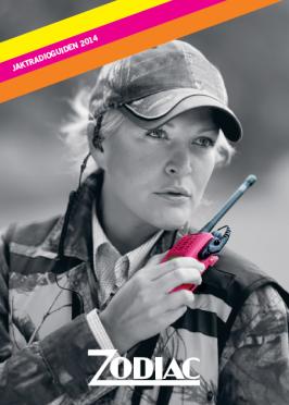 """Zodiac Team Pro Waterproof """"ROOSA"""" -VHF puhelin"""