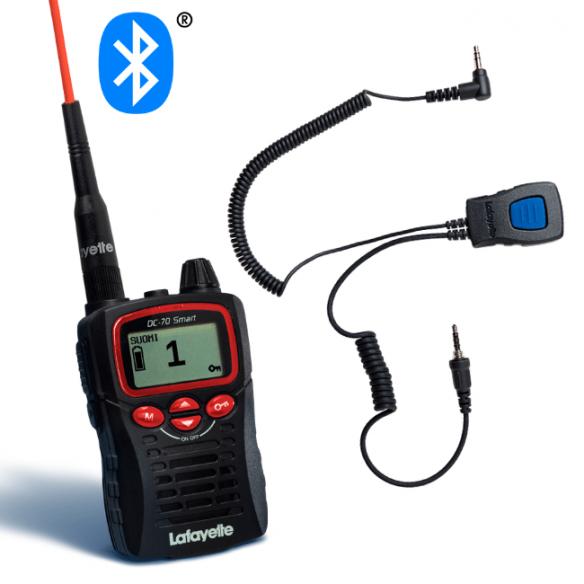 Lafayette Smart BT Bluetooth VHF + miniheadset 6124