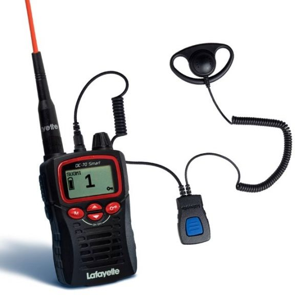 Lafayette Smart VHF puhelin + miniheadset 6121