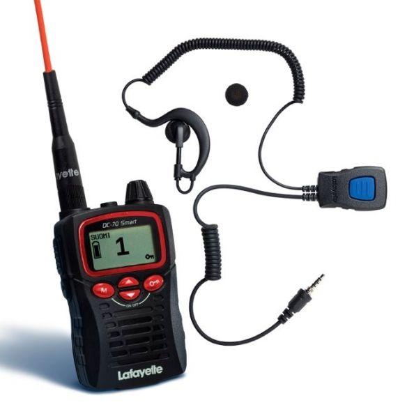 Lafayette Smart VHF puhelin + miniheadset 6122