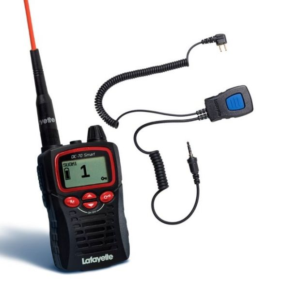 Lafayette Smart VHF puhelin + miniheadset 6123