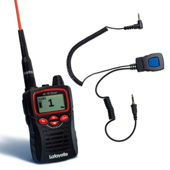 Lafayette Smart VHF puhelin + miniheadset 6124