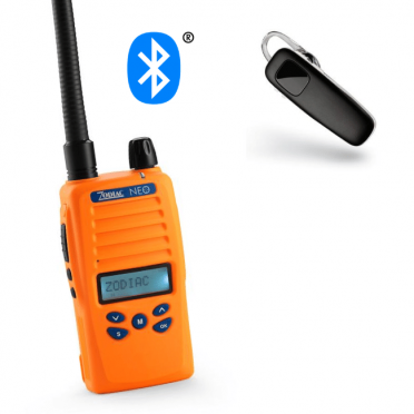 Zodiac Neo 68 BT Bluetooth VHF + Plantronics M70