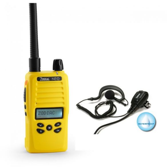 Zodiac Neo 68 VHF -puhelin + mikrofonikorvakuuloke 42359